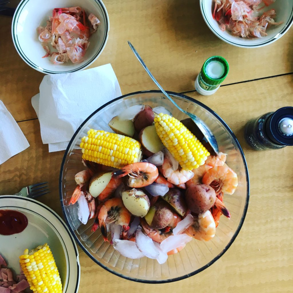 A 4th of July Feast: Low Country Shrimp Boil