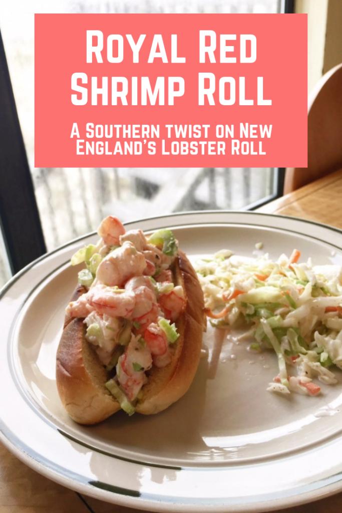 royal red shrimp roll pinterest
