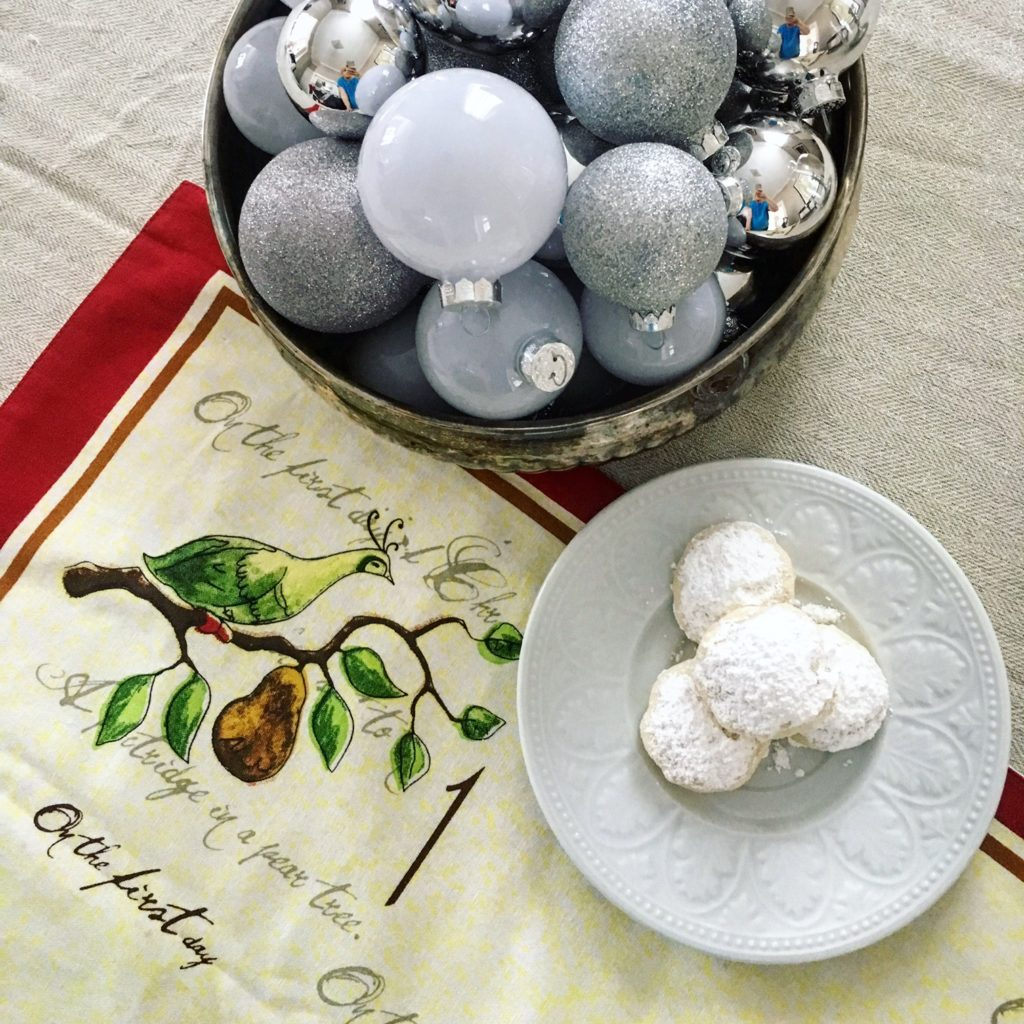 1st Day of Christmas: Meyer Lemon Snowball Cookies