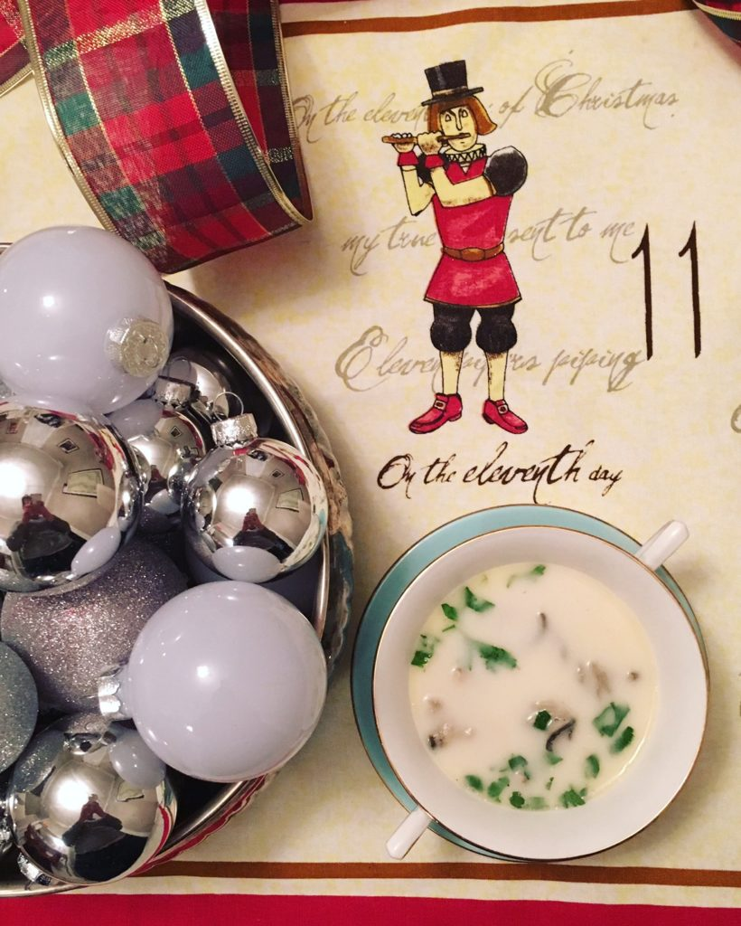 11th Day of Christmas: Oyster Stew