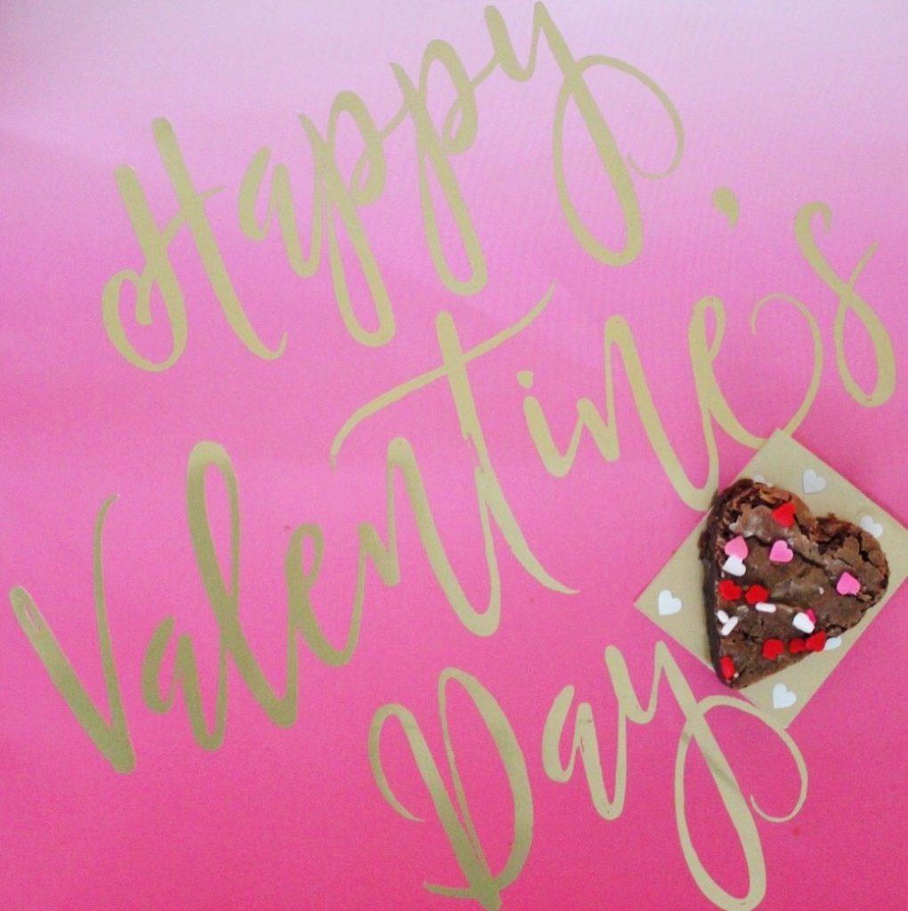 Heart Shaped Brownie