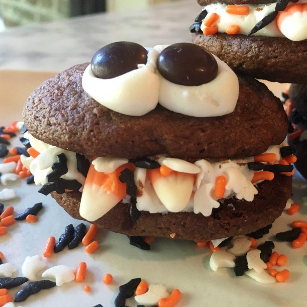 Double Chocolate Monster Cookies