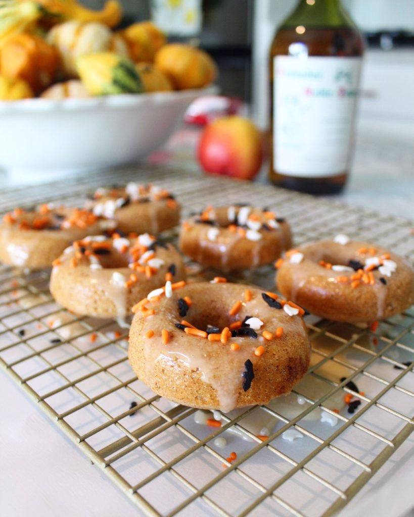 Halloween Apple Cider Donuts