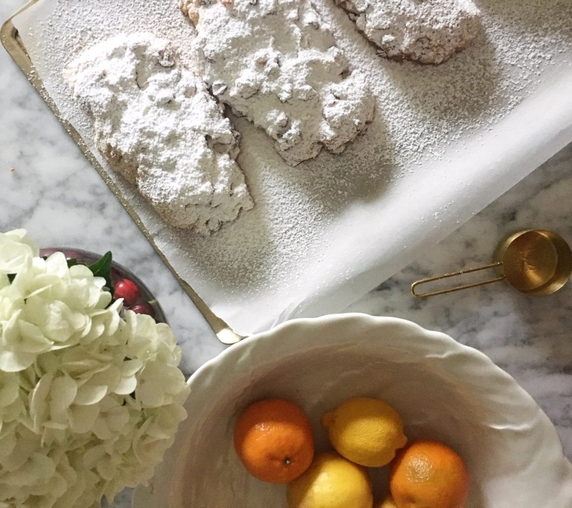 Christmas Stollen with Rum Glaze