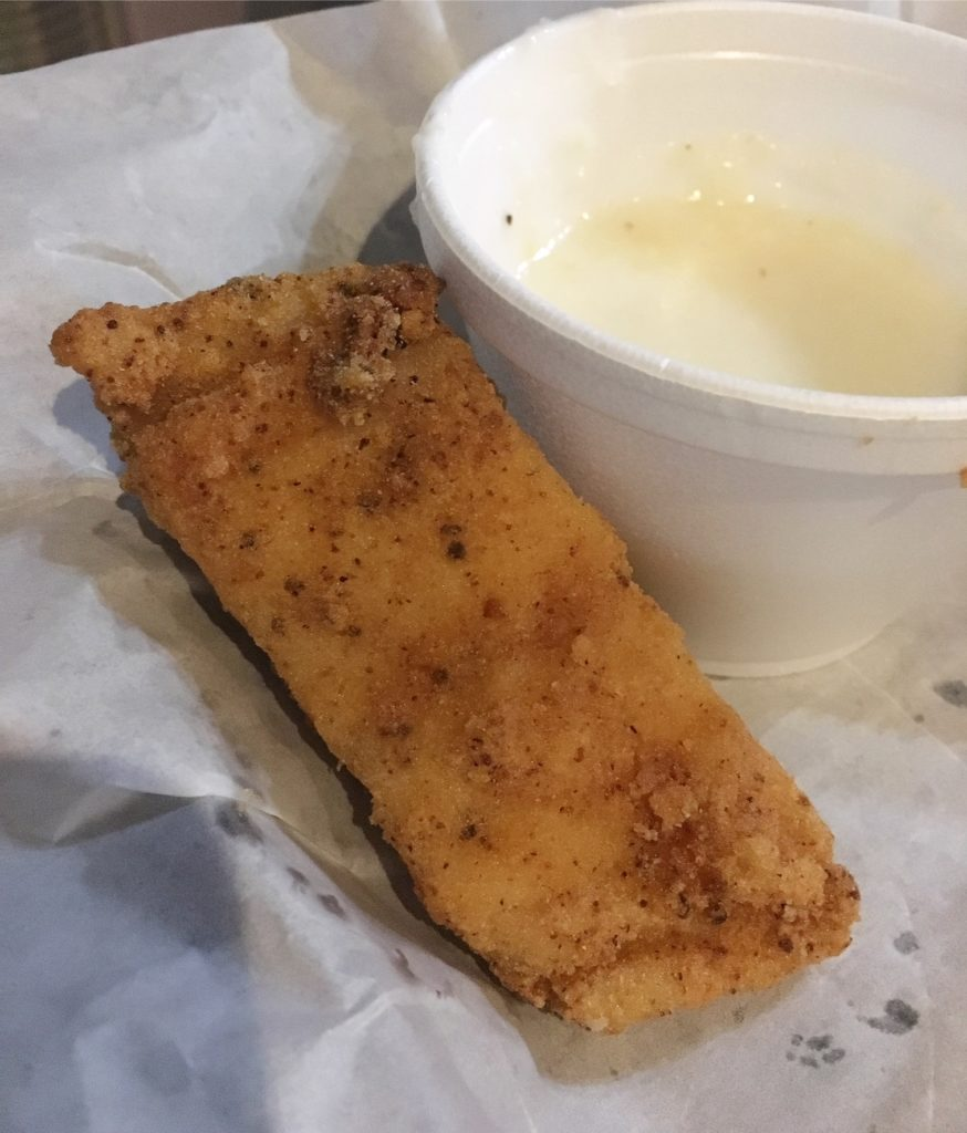 Kazoola's Fried Fish and Grits