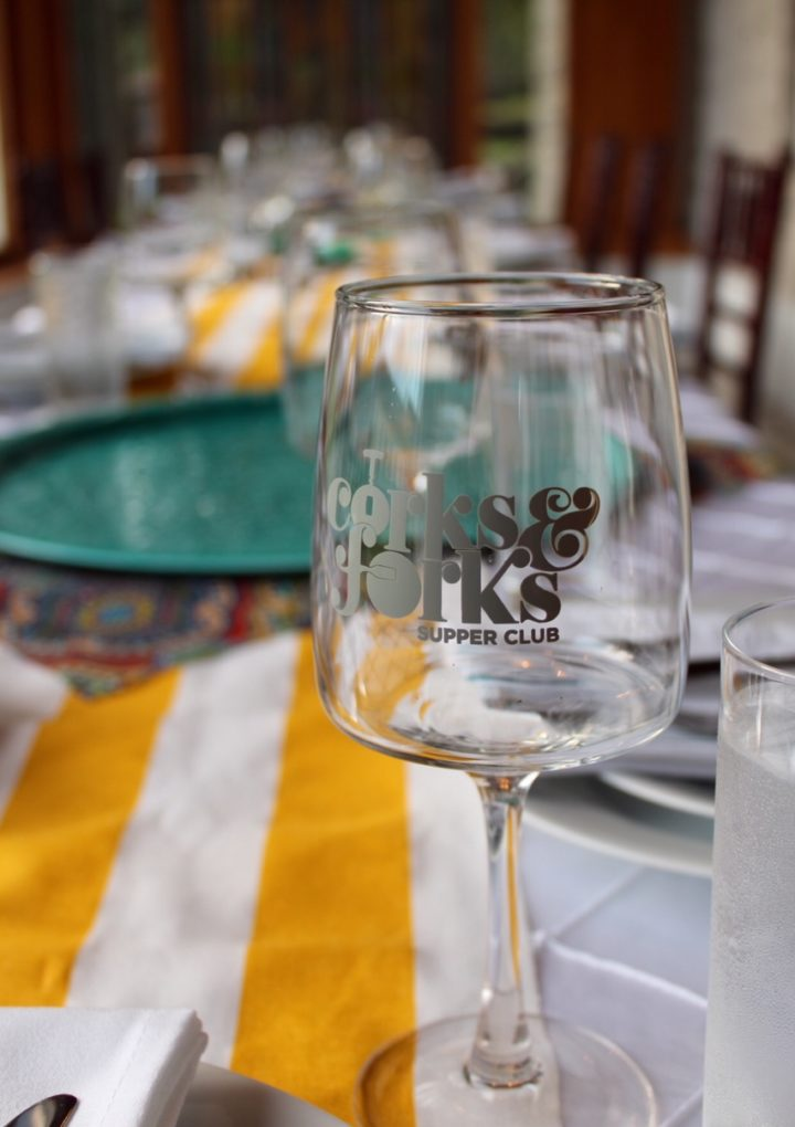 An Evening in Argentina: Corks & Forks Supper Club in Mobile, Alabama