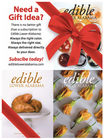 Gift subscription to Edible Lower Alabama