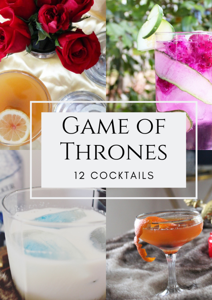 12 Game of Thrones Cocktails for Your Viewing Party